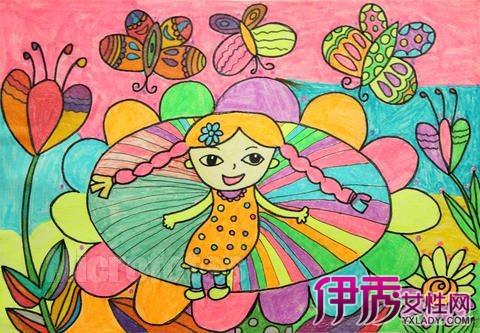 【图】简单好看的儿童画 科学认识儿童作画
