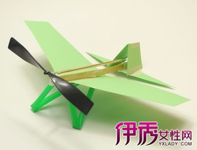 【图】展示儿童手工制作飞机