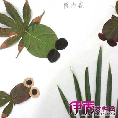 【图】幼儿园树叶手工制作方法大盘点 引导孩子发挥想象力