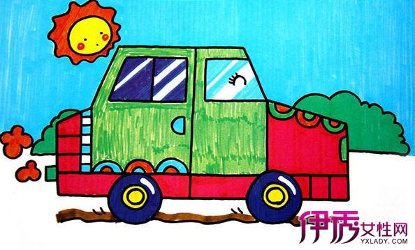 【图】从儿童画汽车图片看出什么? 让你时刻了解孩子