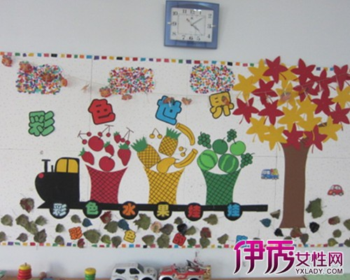 幼儿园墙面美术作品布置第5页_设计展示图片