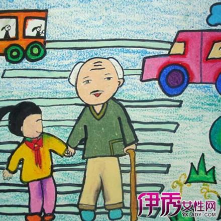 【图】儿童重阳节绘画图片欣赏 以下3个步骤教你如何绘画