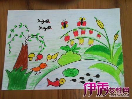【图】中班幼儿画画作品你怎么看