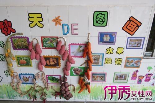 幼儿园中班主题墙边框展示