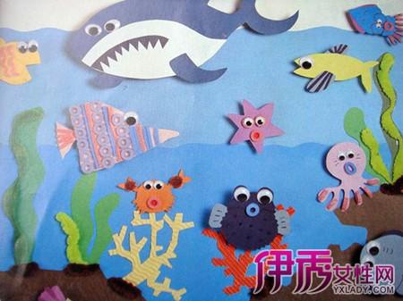【图】儿童画大海图片大全 让你认识美术对幼儿教育的4点作用