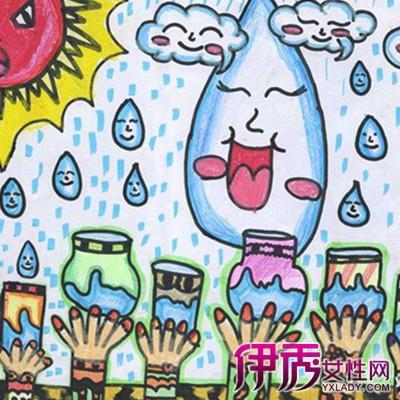 儿童环保画作品
