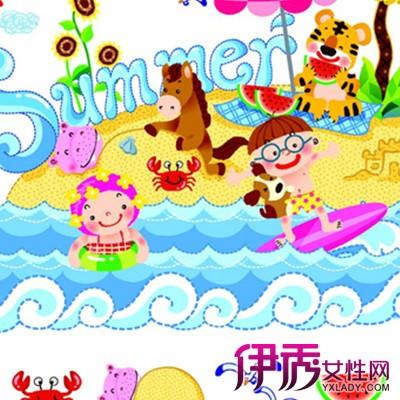 【图】大海沙滩儿童画图片展示 4点指导方法介绍