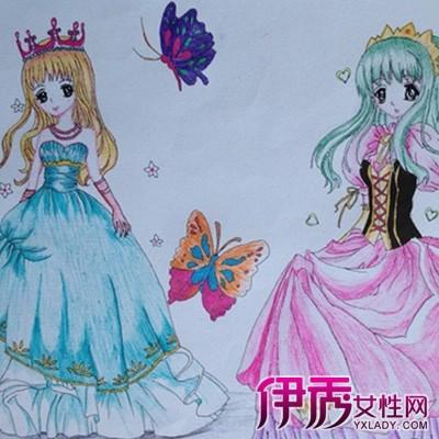 【图】展示简单公主儿童画画图片 必须掌握的几个画画基本功