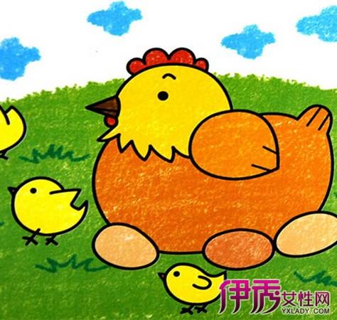 【图】儿童简笔画大全图片彩色样板 个性创意极具表现性