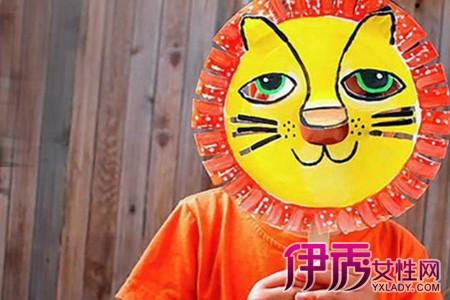 【图】儿童手工制作面具图片欣赏 手工制作对儿童的六个好处