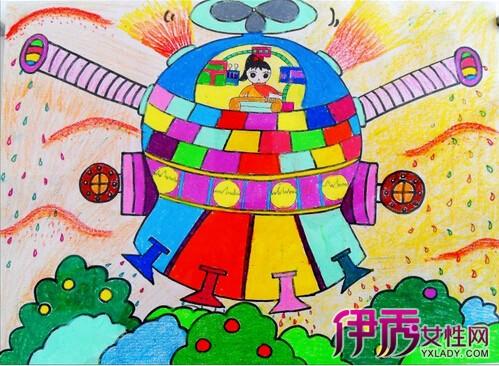 【图】揭秘儿童科幻画存在的问题 三个方面指导孩子创作优秀作品图片