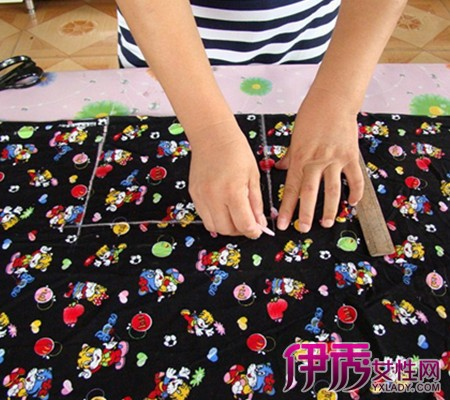 婴儿棉衣棉裤裁剪图