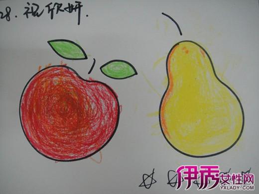【图】幼儿园水果画欣赏 告诉你六个幼儿学习绘画的好处-幼儿园水果画