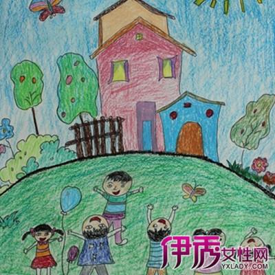 【图】美丽的家园儿童画 为你介绍儿童画的4个特点