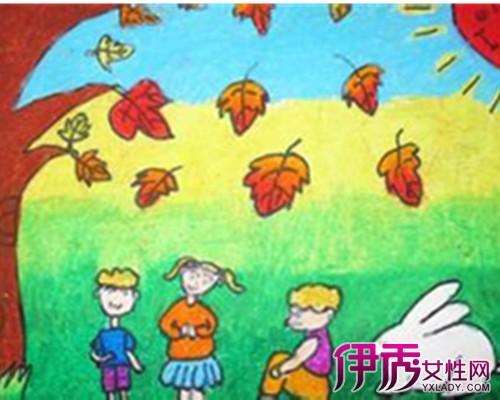 【图】秋天真美丽儿童画欣赏 让你打开儿童幻想世界
