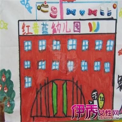 【图】分享我爱幼儿园绘画作品