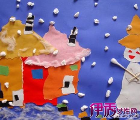 【图】儿童创意手工撕纸画教学 分享最全大班手撕画教程-儿童创意手图片