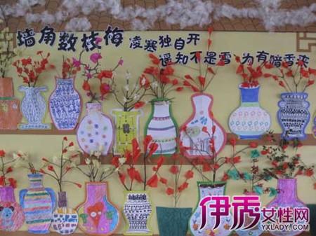 幼儿园冬天主题墙饰设计图片