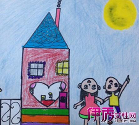 【图】八月十五月亮儿童画大全 盘点中秋节儿童画