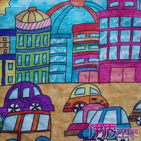 儿童画展展厅设计分享展示