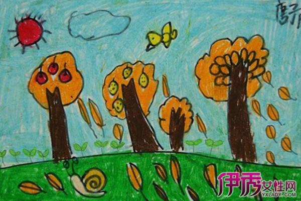 【图】幼儿绘画秋天的图画