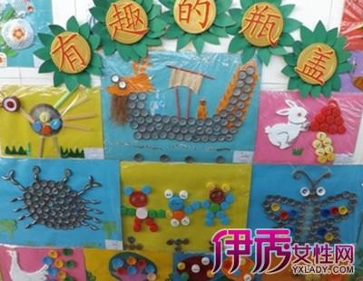 【图】幼儿园图形主题墙图片欣赏 应如何设计主题墙