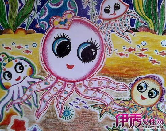 【图】幼儿园中班创意绘画欣赏