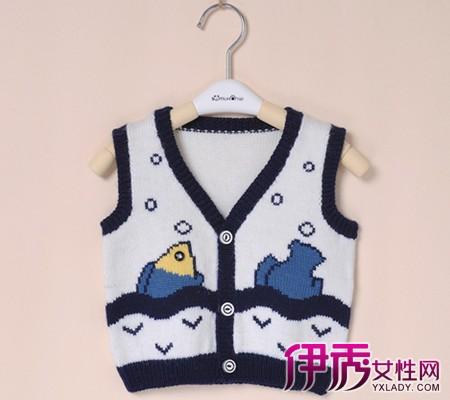 时尚儿童毛衣编织款式!