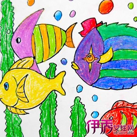 【图】儿童海底世界图画大全欣赏 3步教你指导孩子作个性儿童画