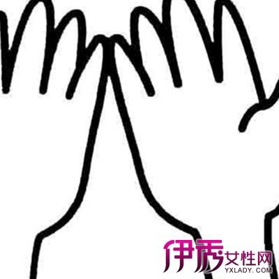 【图】幼儿手掌简笔画图片欣赏 简单线条勾勒出有趣图案