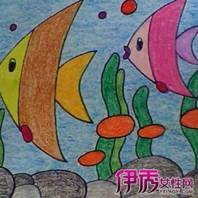 【图】欣赏儿童蜡笔画教师范画 介绍4种幼儿简单易学的画法-儿童蜡笔