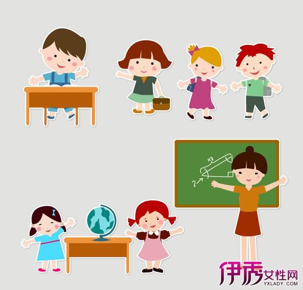 小朋友幼儿园卡通图片图片
