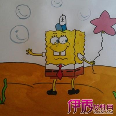 小学生画的简单水彩画图片