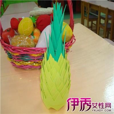 【图】欣赏幼儿园手工水果制作图片 从3个方面培养孩子动手能力