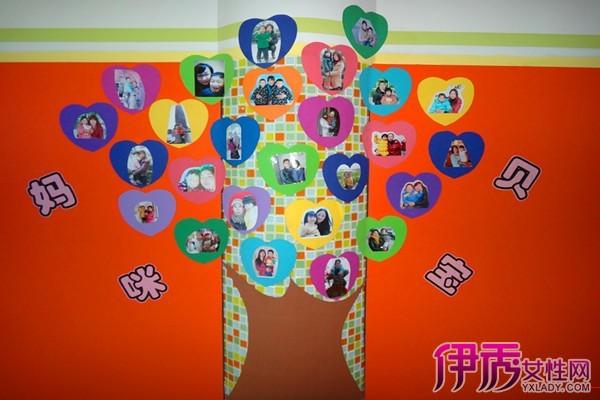 【图】感恩节幼儿园主题墙展示