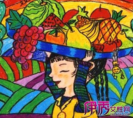【图】儿童画画图片水果大全盘点 让孩子轻松学会简笔画-儿童画画图图片