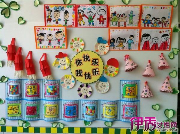 【图】快乐幼儿园主题墙的作用 幼儿园教师该怎么设计主题墙