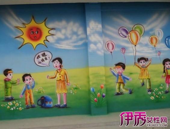 幼儿园墙面图画 life.yxlady.com-伊秀生活小常识图片