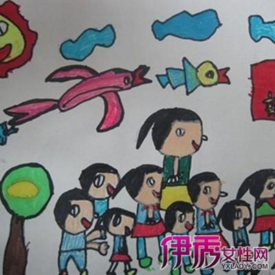 【图】欣赏美丽的家乡儿童画作