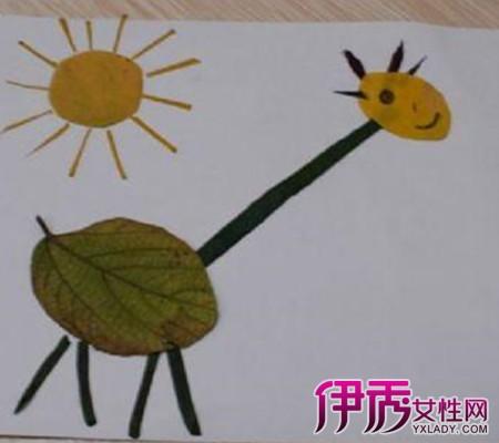 【图】幼儿树叶简单粘贴画做法 三步教会孩子粘贴画