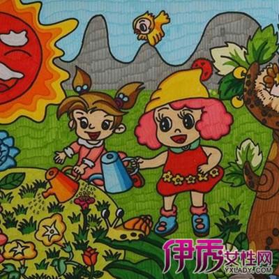 保护环境图画-儿童环保绘画