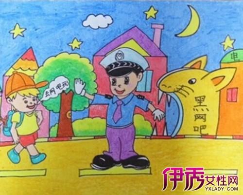【图】儿童法制绘画图片分享