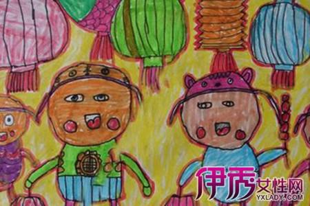 【图】幼儿园中秋节绘画作品欣赏