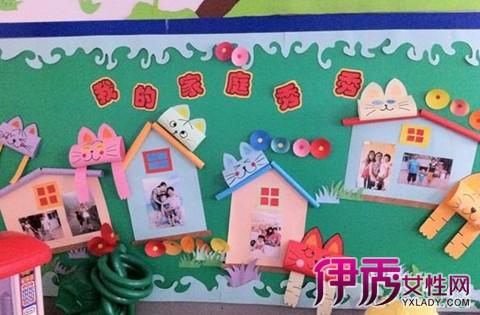 【图】展示幼儿园手工主题墙布置