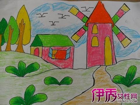 【图】鉴赏风景儿童画画大全 激发儿童创造力
