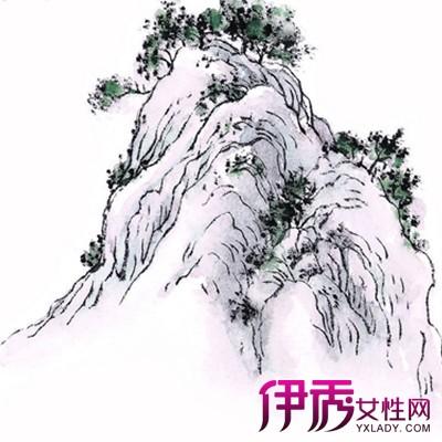 【图】漂亮的幼儿山水画简笔画 山水画的特点有哪些?