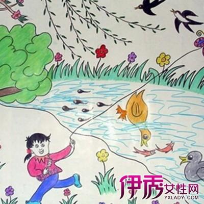 【图】欣赏春天的图画的儿童画 了解孩子心灵特征