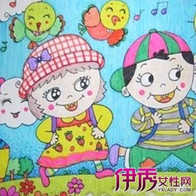 【图】欣赏优秀儿童画教师范画 更加了解孩子的性格
