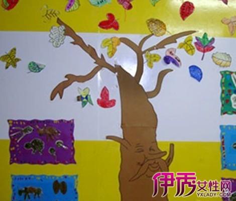 【图】赏幼儿园教室布置图片主题墙秋天 让孩子在快乐的环境中成长