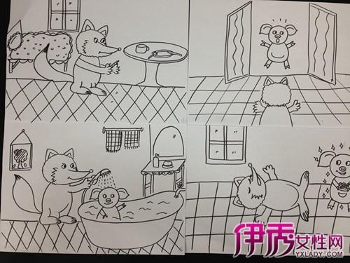 【图】幼儿园老师简笔画图片展示 带你走入孩子的独特世界